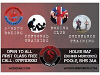 QUALIFIED PERSONAL TRAINER WANTED FOR POOLE BOXING GYM