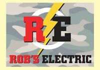 Rob's electric ready to serve YOU !