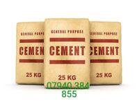 25kg CEMENT BAGS £4.50