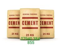 10 x 25kg CEMENT BAGS £40.00