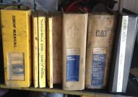 50 + CAT and other service and parts manuals