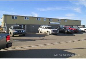 Two shops in downtown Lloydminster with yard space