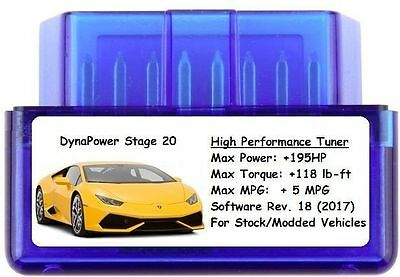 Stage 20 Tuner Chip Power Performance [ Add 195 HP/5 MPG ]  VW
