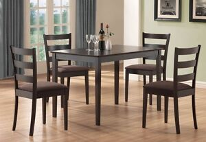 Dining Table ( 30 x 47)  with 4 chairs, all NEW in boxes,