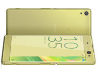 SONY Xperia XA Android Mobile Phone - 16 GB, Lime GOLD - O2