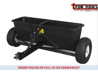 Sealey SPD80T Drop Spreader 80kg Tow Behind grit seed salt fertilizer Weed kill