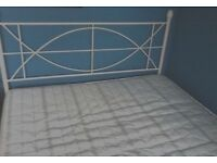 Double Bed - Including Mattress and Bed Frame - £75