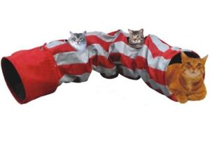 Tunnel for CAT, small Dog, New, Portable, red-grey colour