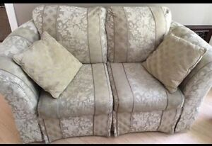 Sofa and love seat! Must sell!!!