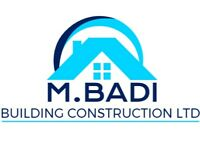 Builder Providing House Extensions, Loft Conversions, Bathroom Fitting, Renovation & More