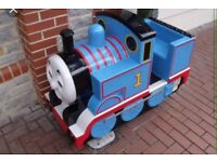 Coin operated Thomas the tank engine toy