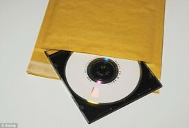 120 CD PADDED ENVELOPES COLLECTION S431JD BRIMINGTON CHRSTERFIELD