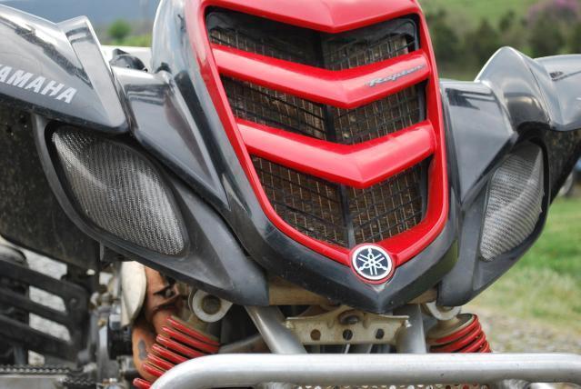Yamaha Raptor 660 Black Head Light Covers Headlight ATV UTV RZR YFZ Gytr New Set