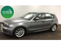£203.97 PER MONTH GREY 2010 BMW 116D 2.0 M SPORT 5 DOOR HATCHBACK DIESEL MANUAL