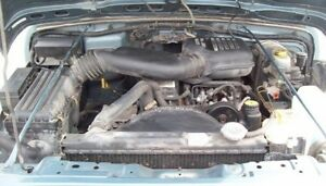Jeep Wrangler TJ 4L engine