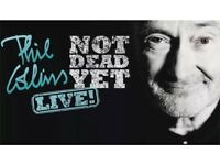 Phil Collins tickets for sale