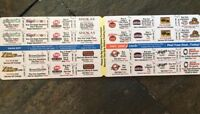 Mini Peel Coupon Books