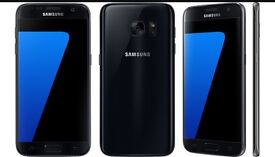 Samsung galaxy s7. Black brand new condition. BOXED