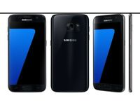 Samsung Galaxy s7 Black 32gb unlocked Black colour