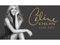 2 x Celine Dion Tickets - Leeds Direct Arena - 2nd August
