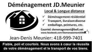Déménagement JD.Meunier:Disponible 24-26-31 décembre - 1 janvier Québec City Québec image 2