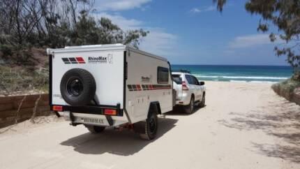 Rhinomax Scorpion Micro Hybrid Camper Trailer