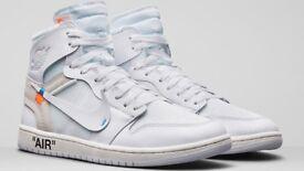 Off white X air Jordan 1