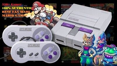 Super Nintendo Classic Mini Edition SNES System - 530+ Games! DELUXE CASE! NES