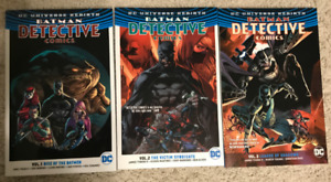 Batman Detective Comics Vol 1, 2, 3 Graphic Novel Comic