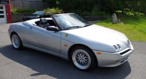 ALFA ROMEO SPIDER 916 SILVER/COULEUR ARGENT