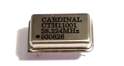 New Cardinal Cth 11001 Crystal 930826 28.224 Mhz Cth11001 28.224mhz