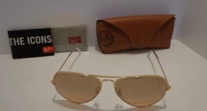 Authentic Ray-Ban Large Aviator Gradient Sunglasses RB3025