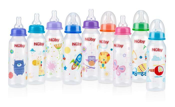nuby non drip standard neck 8oz baby