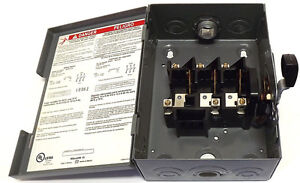 30 amp 3 phase disconnect switch dssqd341 for 3 phase motor disconnect switch