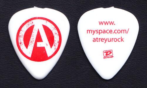Atreyu White/Red Myspace White/Red Guitar Pick - 2008 Tour