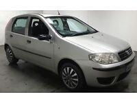 Fiat Punto 1.2, 8 mths MOT, Silver, 5 door, drives superb.