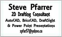 $25 per hour AutoCAD Drafting Services.