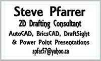 $25/hour AutoCAD Drafting Services.