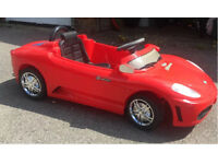 Kids ride on 6v electric Ferrari car with remote control and MP3 player