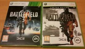 Battlefield 2 an Battlefield 3 for Xbox 360 also worx on Xbox 1 pal ...