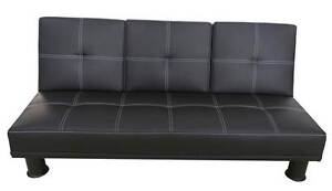 【Brand New】PU Leather Sofa Bed with Cupholder Springvale Greater Dandenong Preview