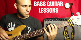 BASS LESSONS with Full time Musician/Teacher - Cheap first trial lesson - Home Studio