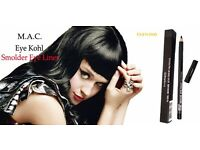 Mac Eye Kohl Smolder Pencil 1.45g Colour Black BRAND NEW IN BOX £12.00 FREE POSTAGE