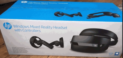 HP Windows Mixed Reality Headset with Controllers vr virtual