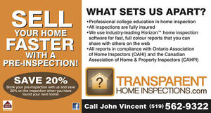 Home Inspection Windsor Region Ontario image 2