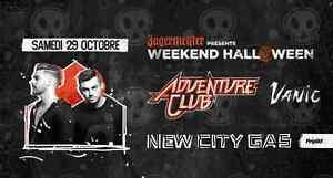 Adventure Club au New City Gas
