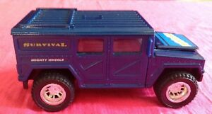 "Vintage SOMA 1998 mighty wheels SURVIVAL HUMMER vehicule 4""1/2"