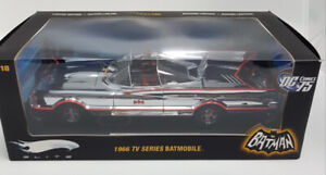 Hot Wheels 1966 TV Series Batmobile CHROME Elite #R1793