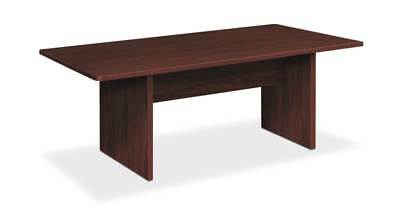 Hon Foundation Conference Table Rectangle Panel Base 72w X 36d Mahogany