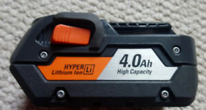RIDGID 18-Volt 4 Amp Hour Hyper Lithium-Ion Battery
